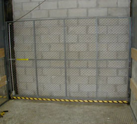 Freight Elevator Vertical Rise Gates